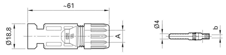 MC4 Konnektör Dişi1