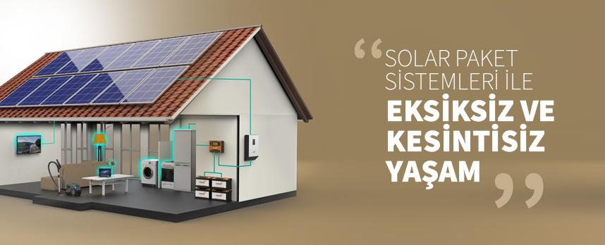 solar paket ile ev elektriğini bedavaya getirin