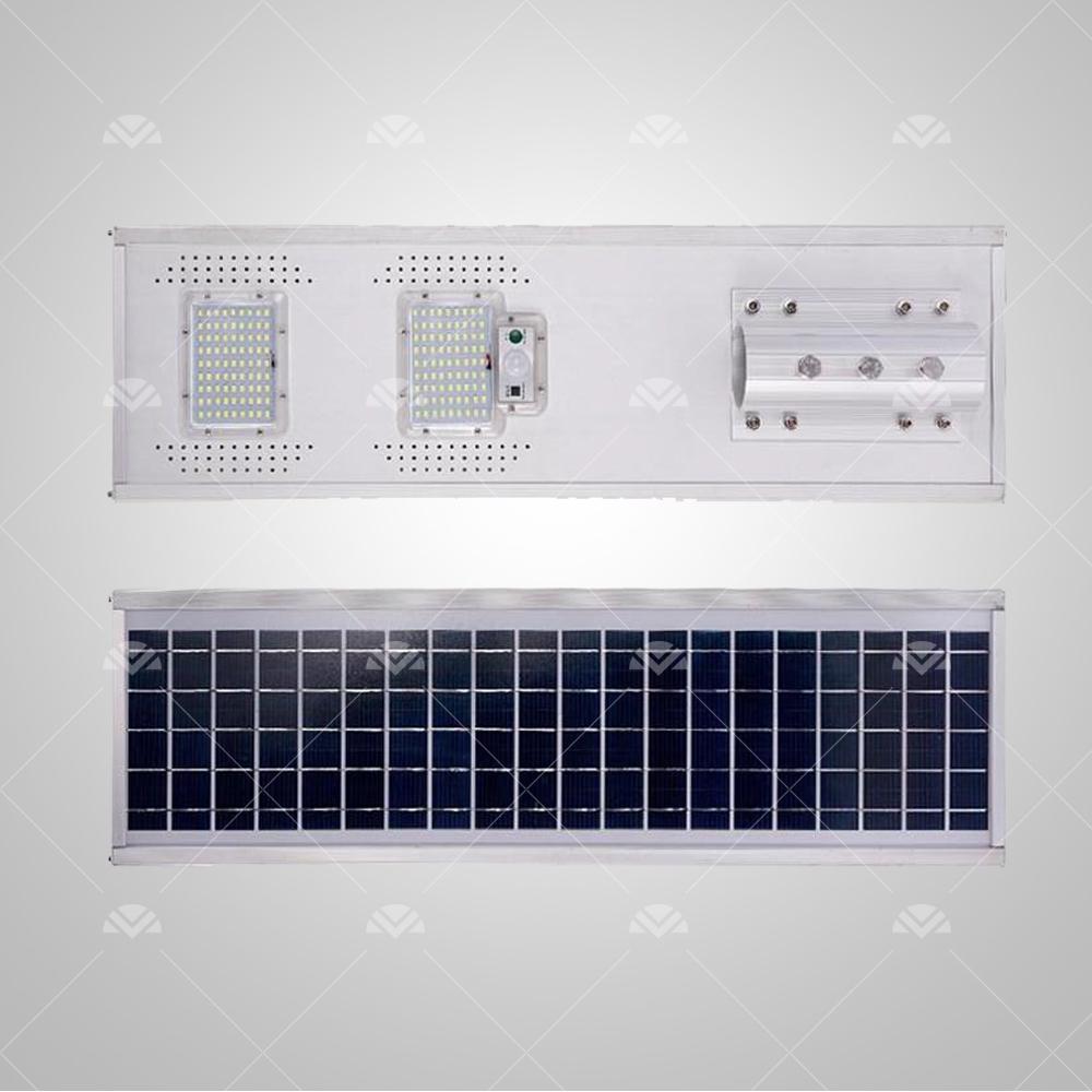 (100W Led) Solar Sokak Aydınlatma Armatürü (All In)2