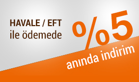 HAVALE / EFT %5 indirim