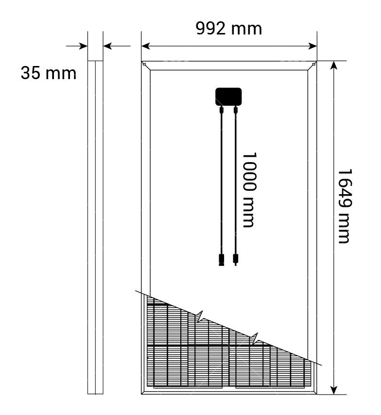 270Watt Polikristal Güneş Paneli1