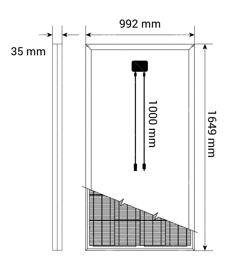 290Watt Monokristal Güneş Paneli1