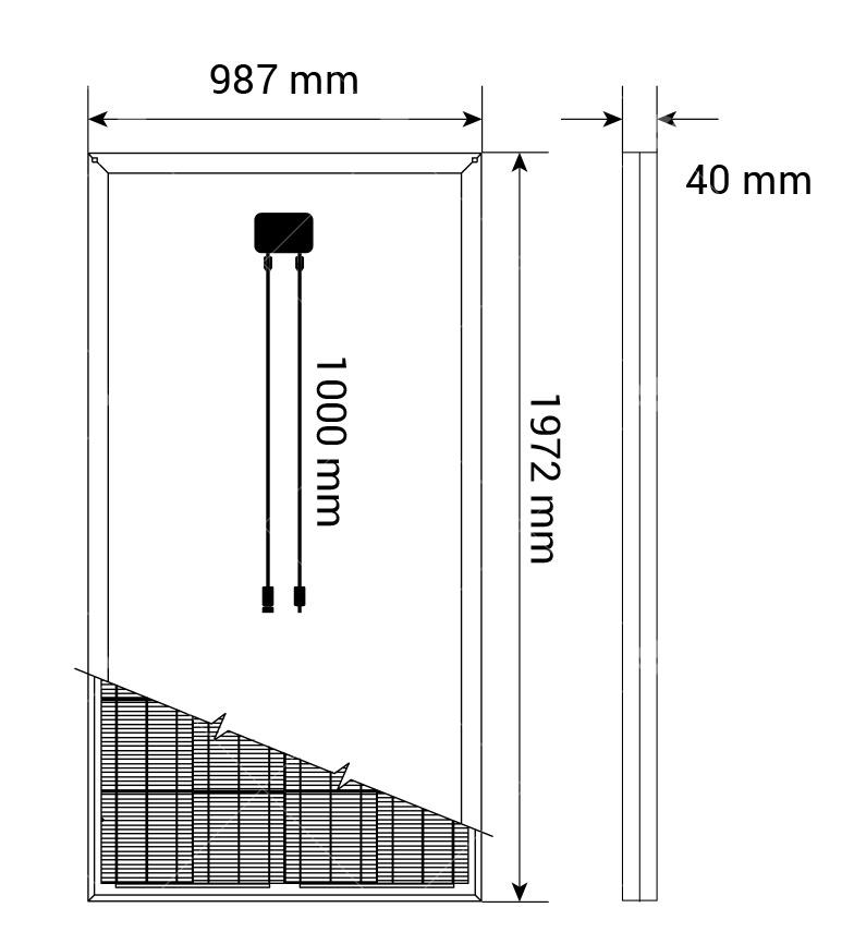 315Watt Polikristal Güneş Paneli1
