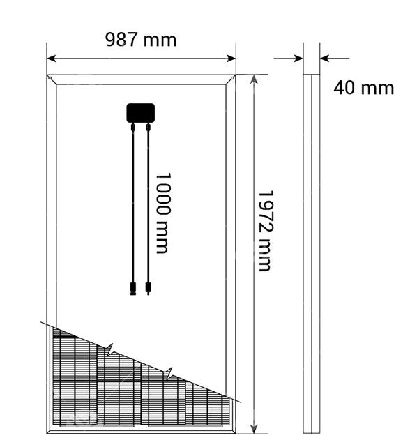 325Watt Monokristal Güneş Paneli1