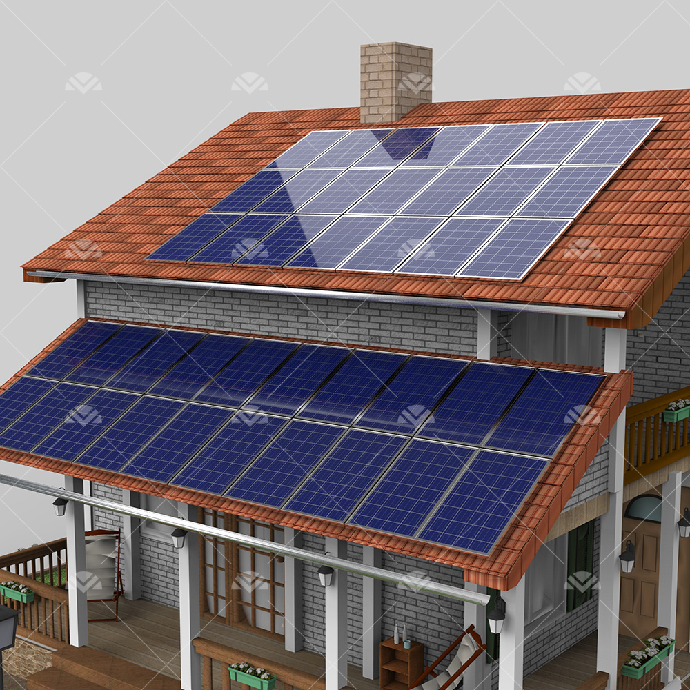10 kW ON GRID Çatı Projesi