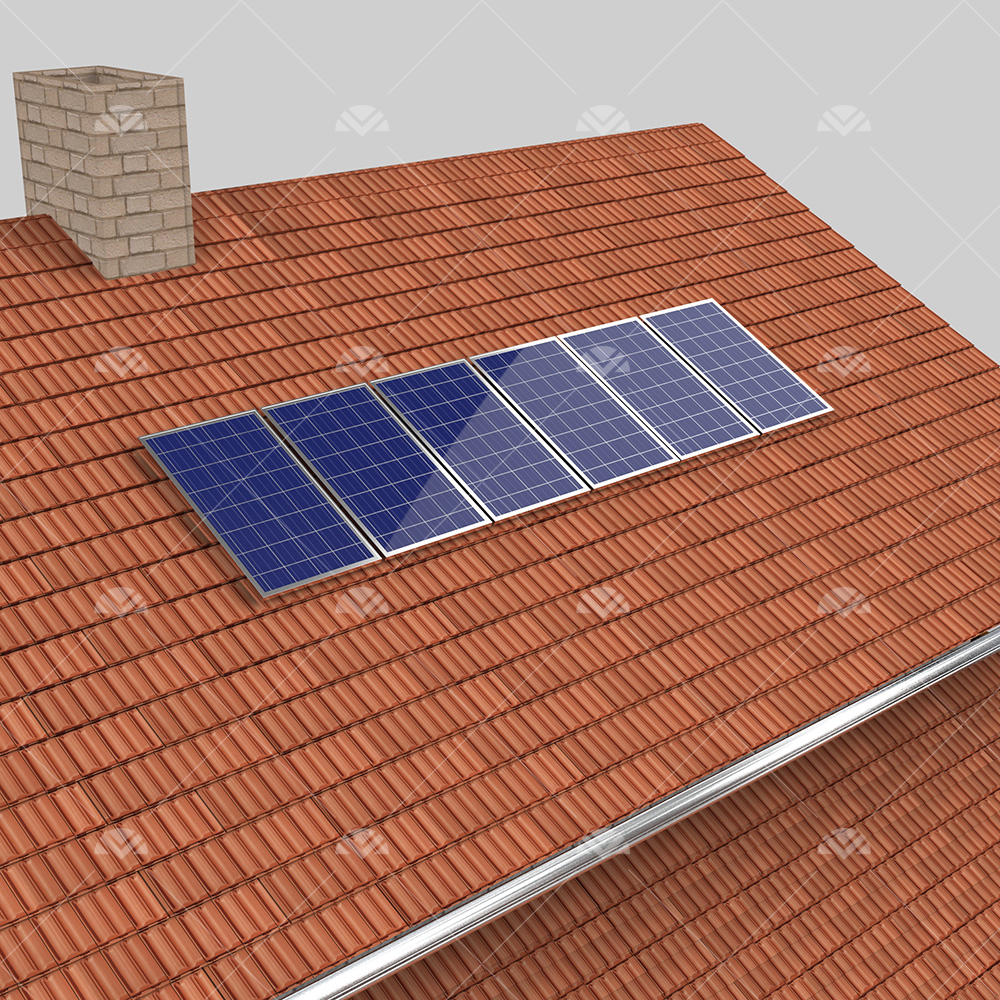 1 kW ON GRID Çatı Projesi