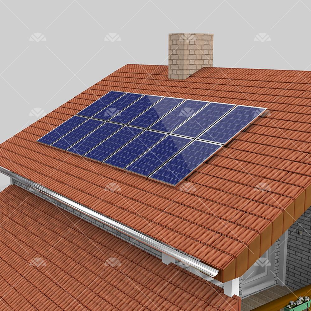3 kW ON GRID Çatı Projesi