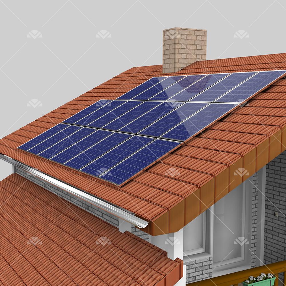 5 kW ON GRID Çatı Projesi