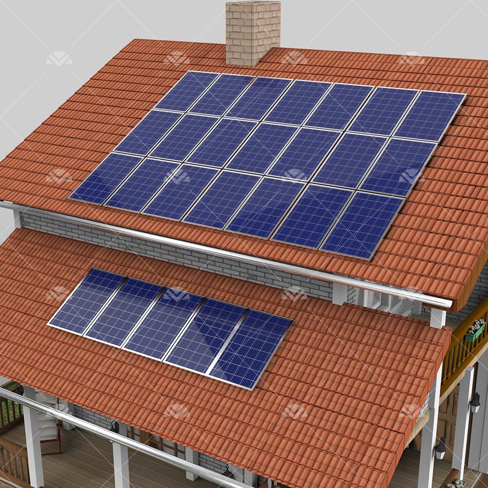 7 kW ON GRID Çatı Projesi