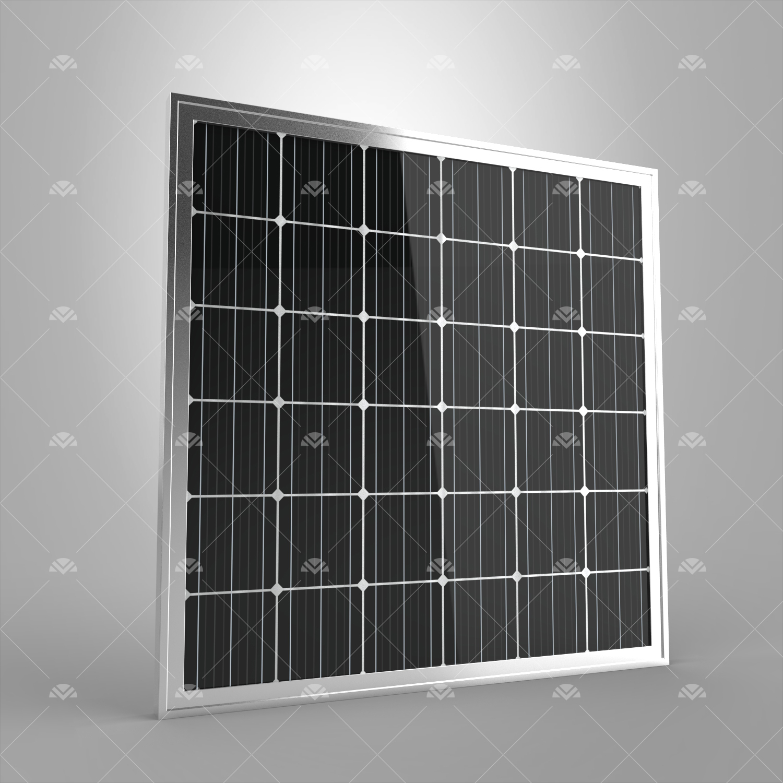 165Watt Monokristal Güneş Paneli (Yatay)