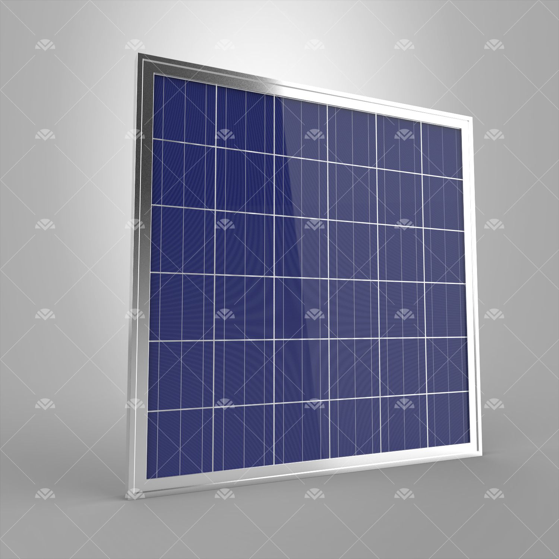 150Watt Polikristal Güneş Paneli (Yatay)